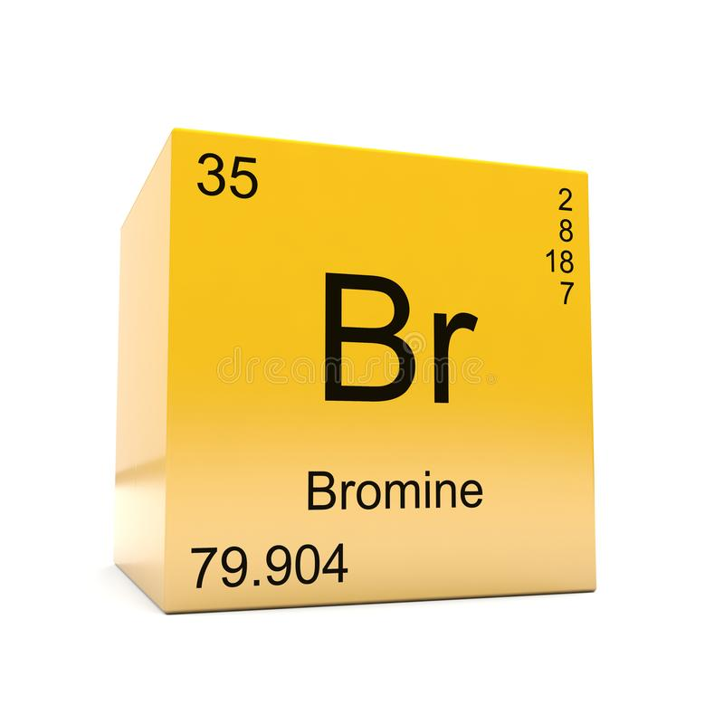 Bromine chemical element symbol from periodic table stock download bromine chemical element symbol from periodic table stock illustration illustration of cube bromine urtaz Gallery