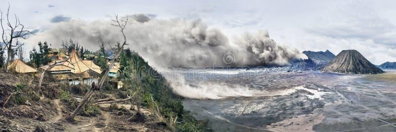 bromo Indonesia park narodowy volcanoes obrazy royalty free
