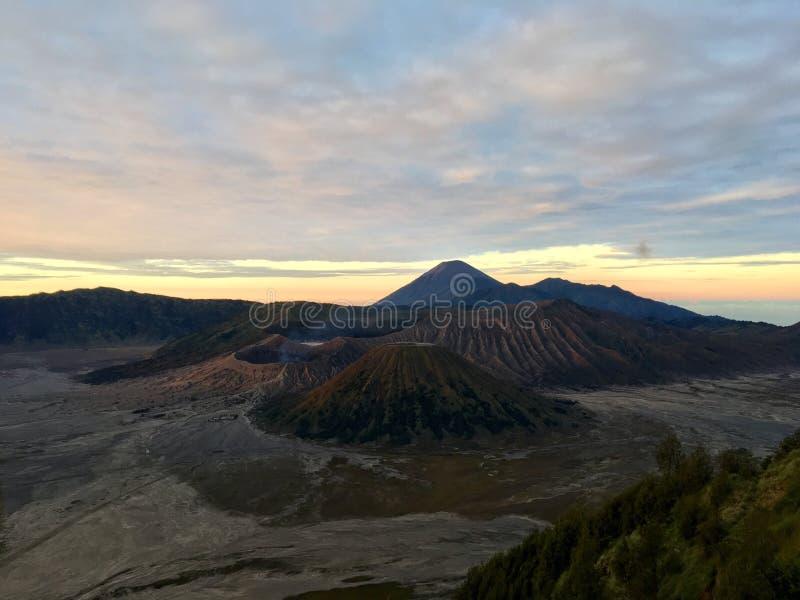 Bromo-Sonnenaufgang stockfotografie