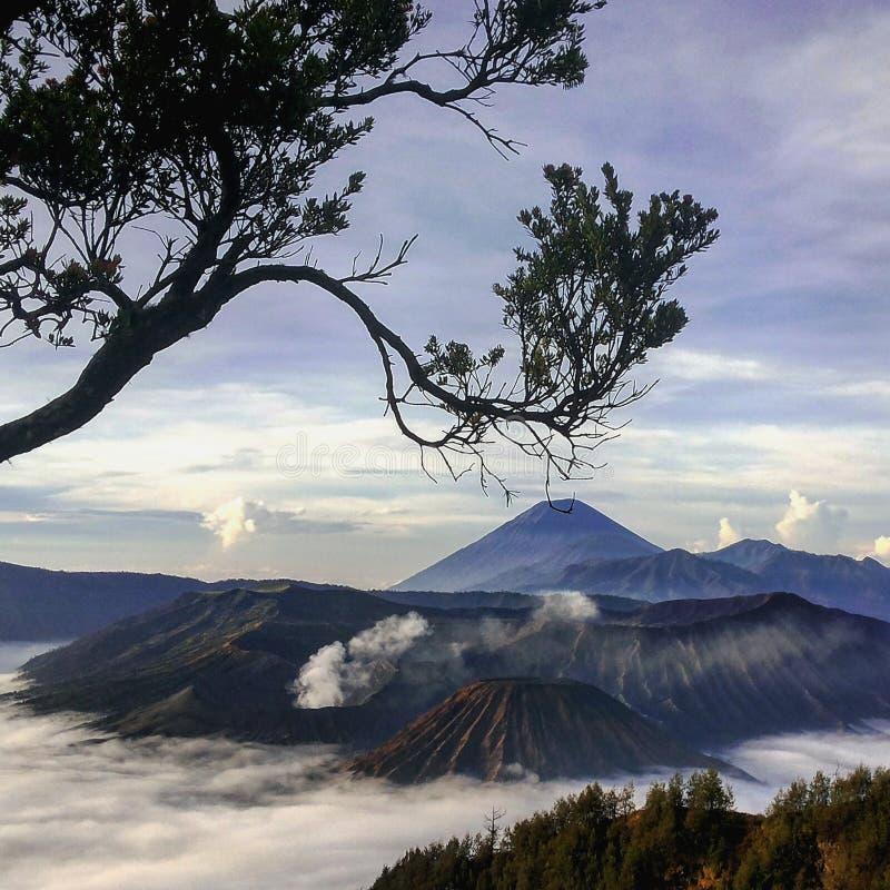 Bromo Volcano Mountain stock photo