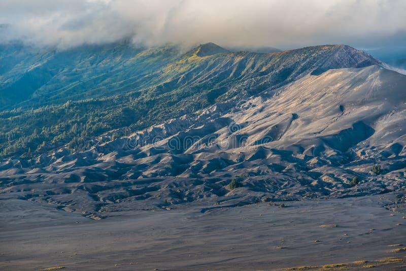 Bromo wulkan obrazy royalty free