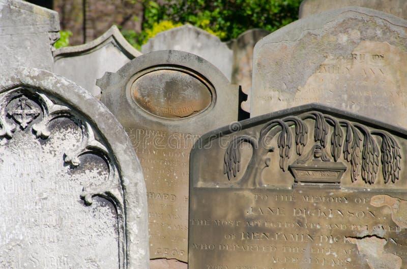 Brompton Cmentarniany szczegół zdjęcia stock