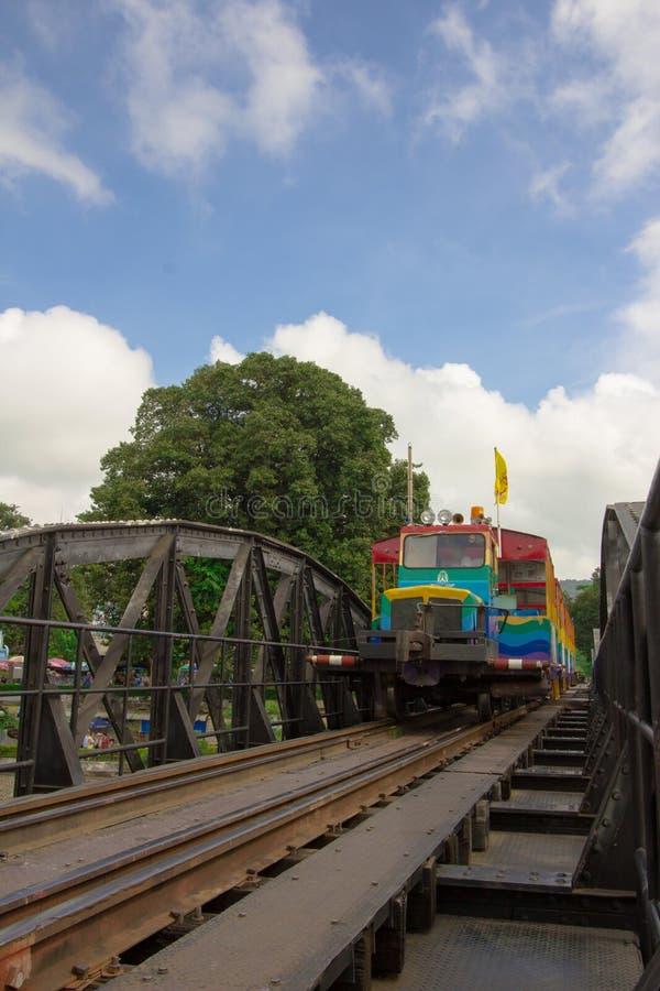 Bron av flodkwaien arkivfoto