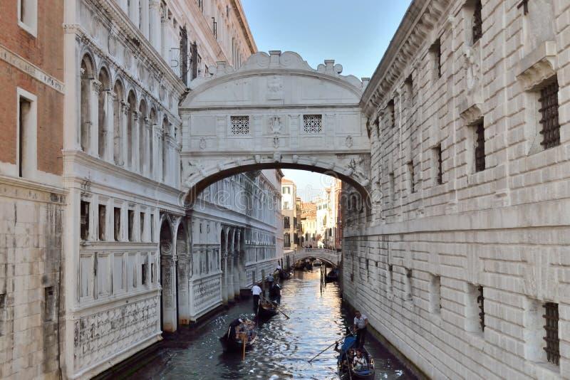 Bron av suckar i Italien Venedig arkivfoton