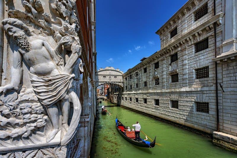 Bron av suckar, Venedig, Italien arkivfoton