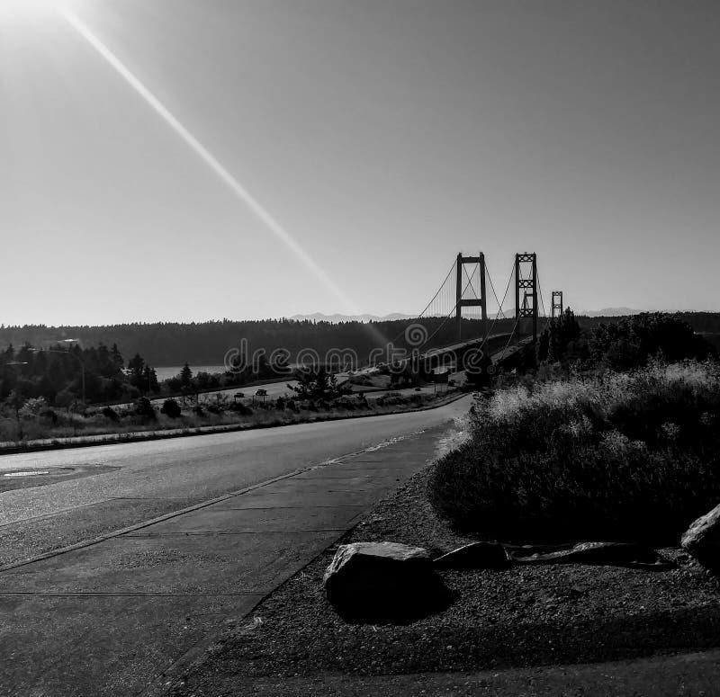 Bron för Tacoma trångt pass royaltyfria foton