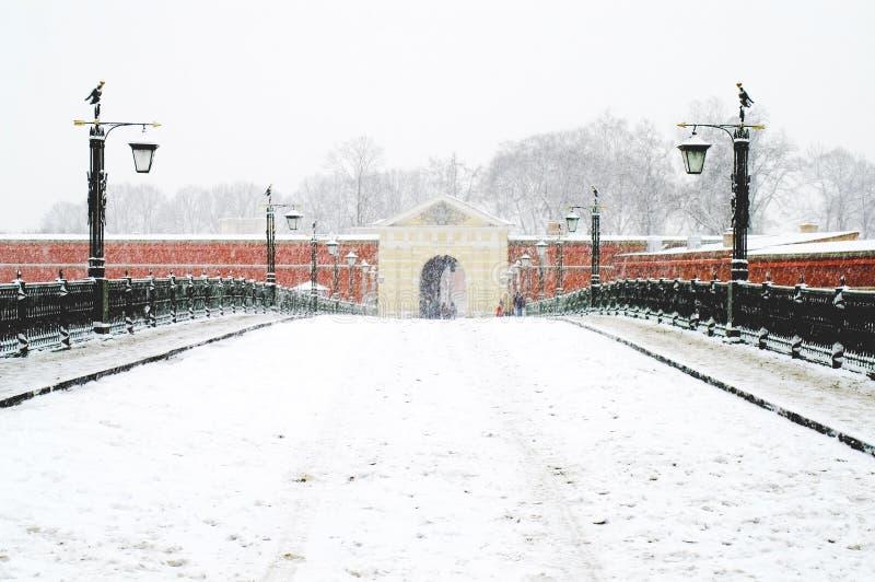 bron gates john s till arkivbilder