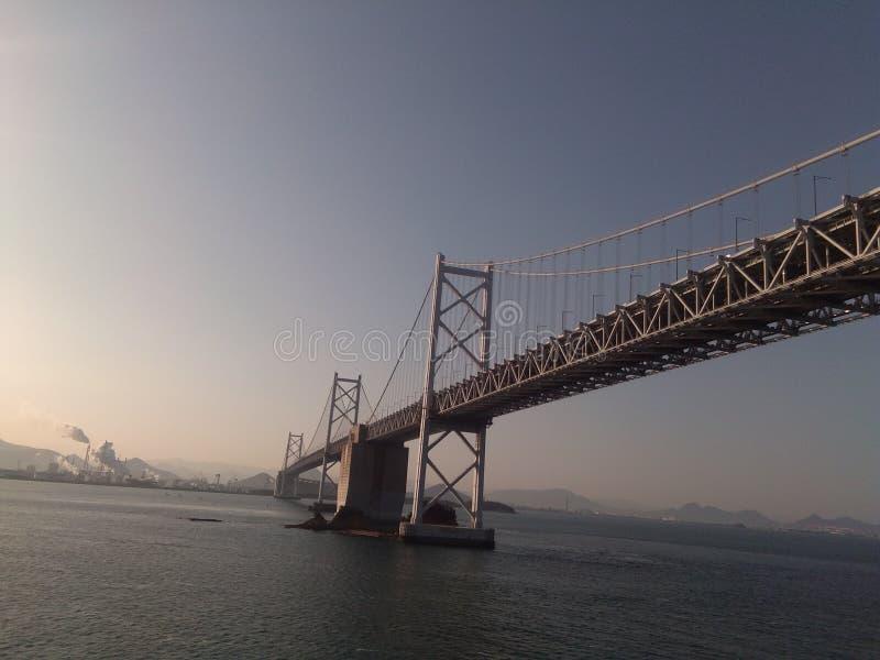 Bron gjorde i Japan royaltyfri fotografi