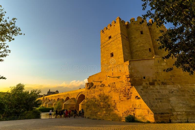 Bron i Cordoba - Spanien royaltyfria bilder