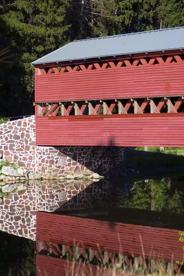 bron räknade gettysburg pennsylvania sachs arkivfoto