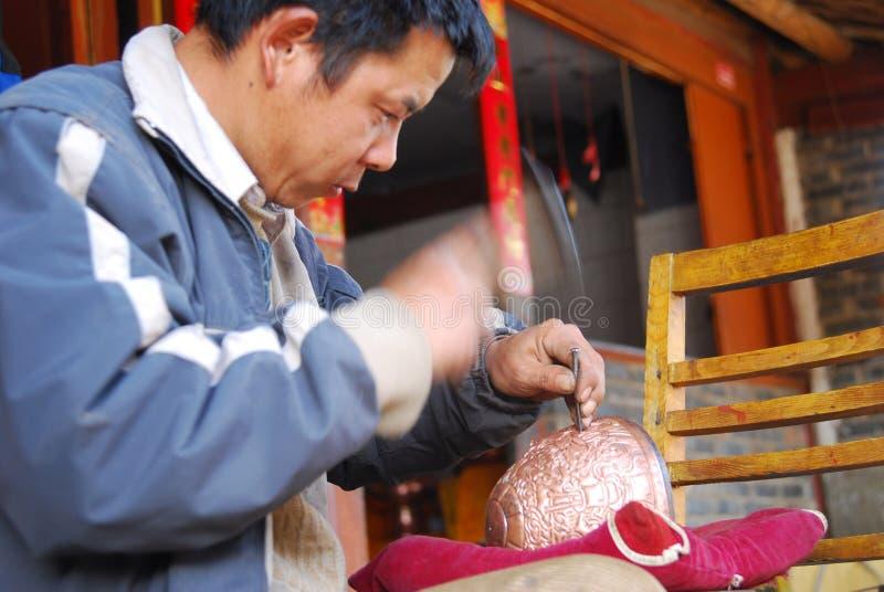 Bronces chinos foto de archivo