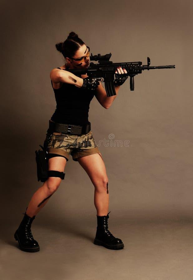 broni kobieta fotografia royalty free