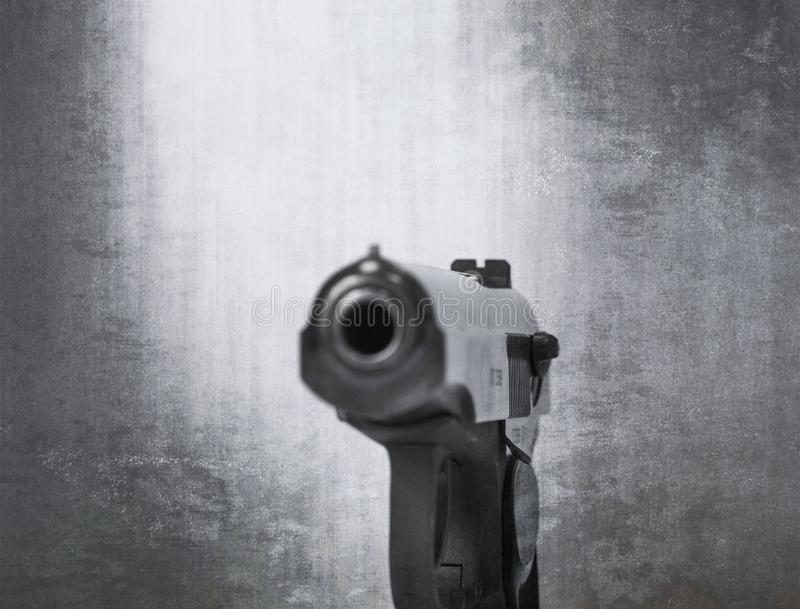 Bronie palne strzelaj? na teksturze i tle zdjęcia stock