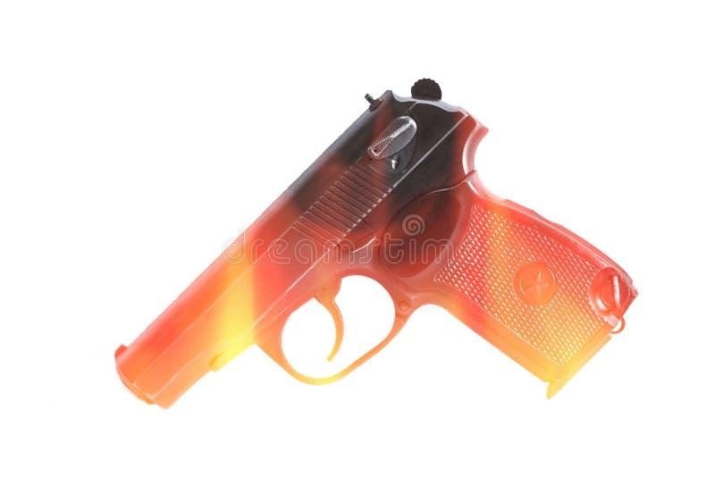 Bronie palne strzelaj? na teksturze i tle zdjęcie stock