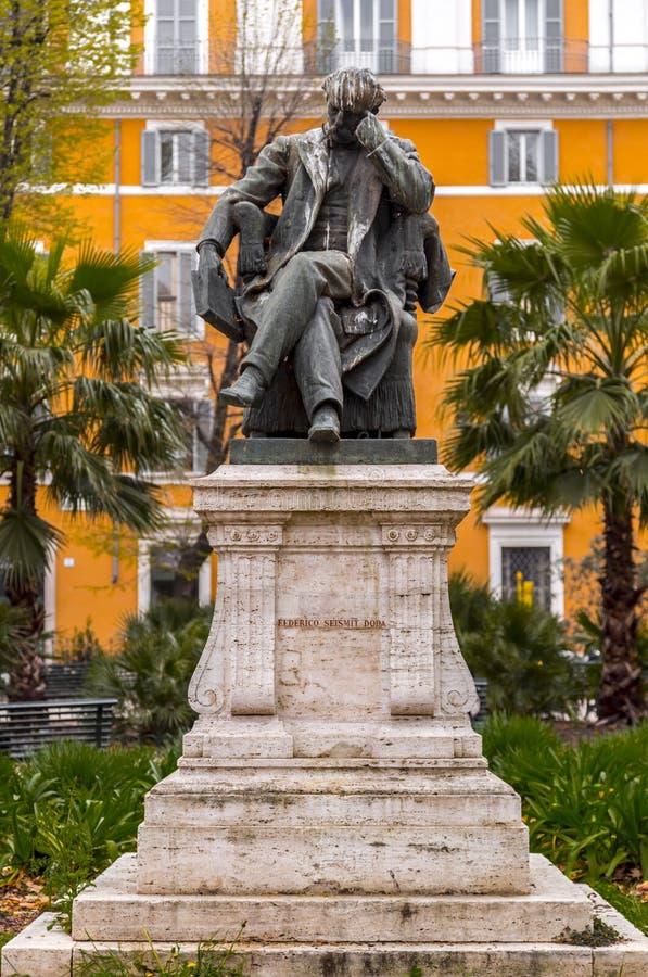 Brons skulptur av Federico Seismit Doda arkivbild