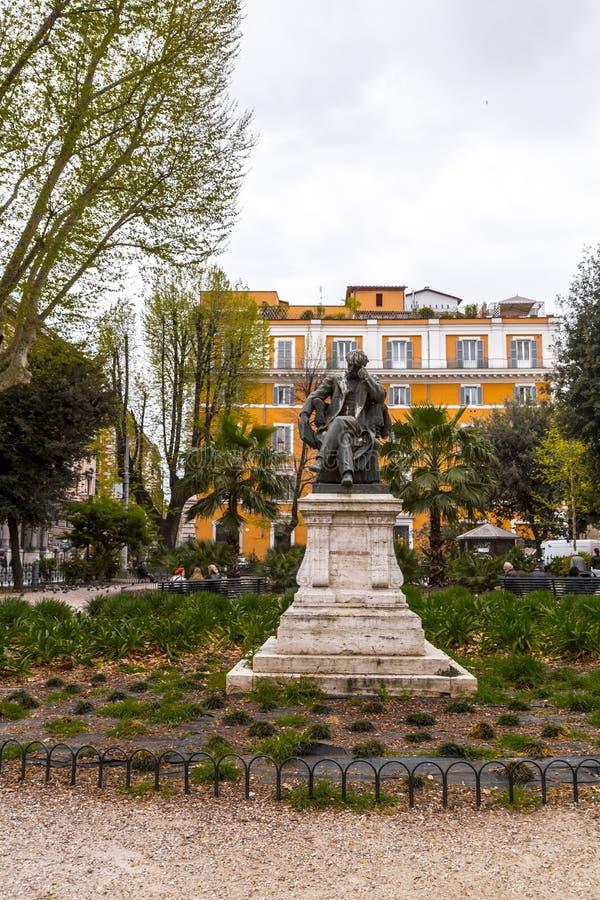 Brons skulptur av Federico Seismit Doda royaltyfria bilder