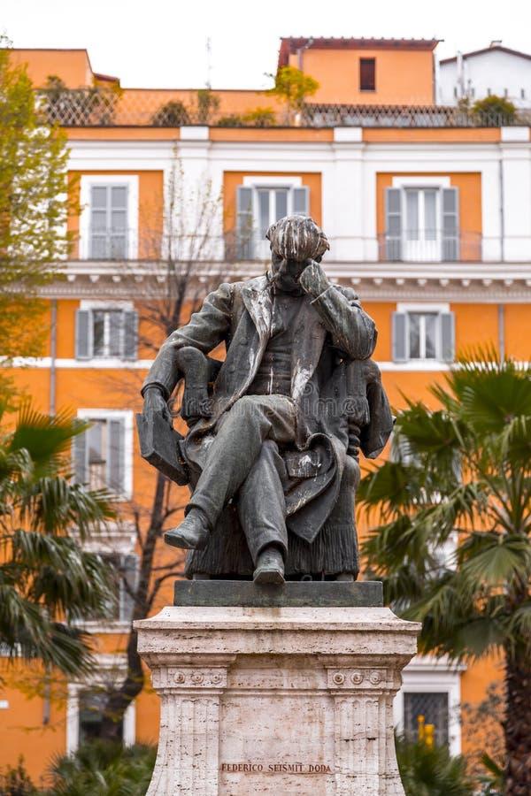 Brons skulptur av Federico Seismit Doda royaltyfri foto