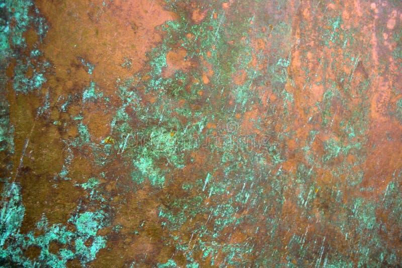 Bronsbakgrundstextur royaltyfria bilder