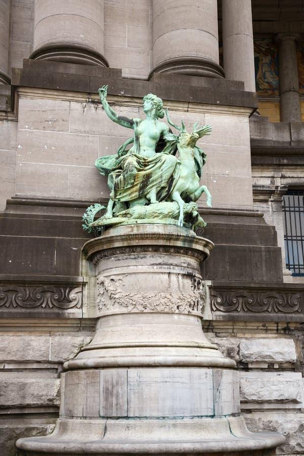 Bronsbeeldhouwwerk royalty-vrije stock afbeelding