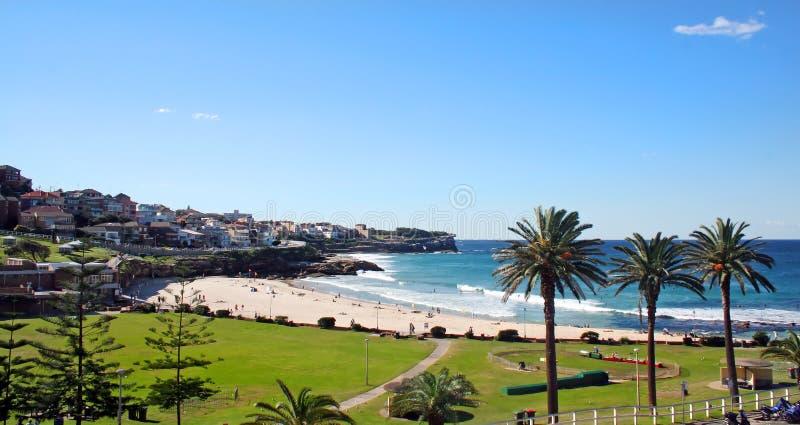 bronte Сидней пляжа стоковое изображение rf