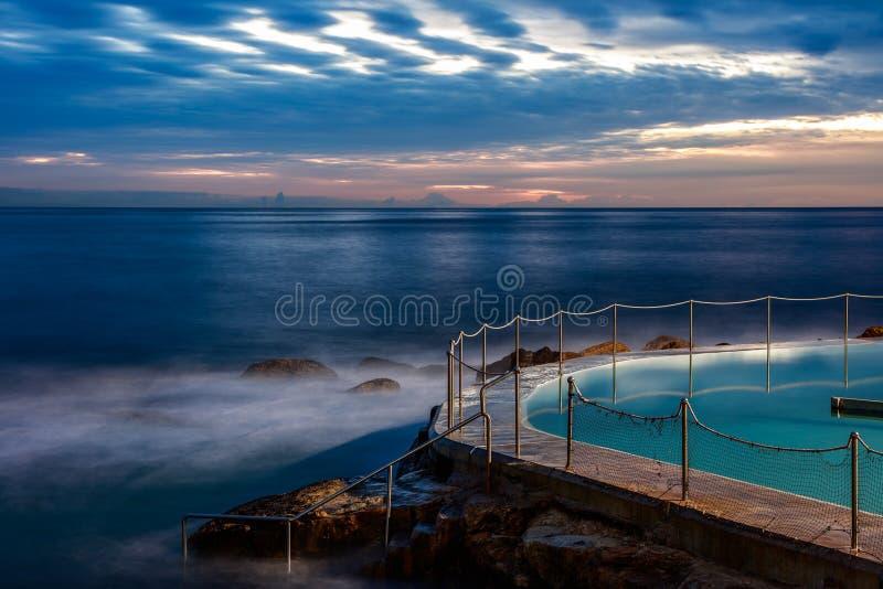 Bronte all'alba, NSW, Australia fotografia stock