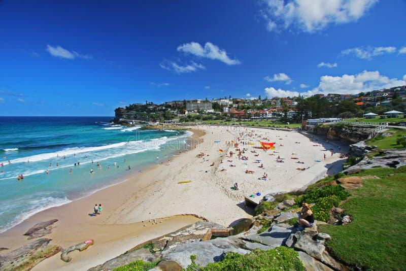 Bronte plaża w Sydney, Australia fotografia stock