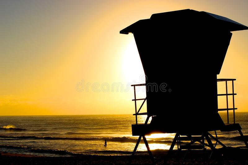 Bronte sunrise royalty free stock photos