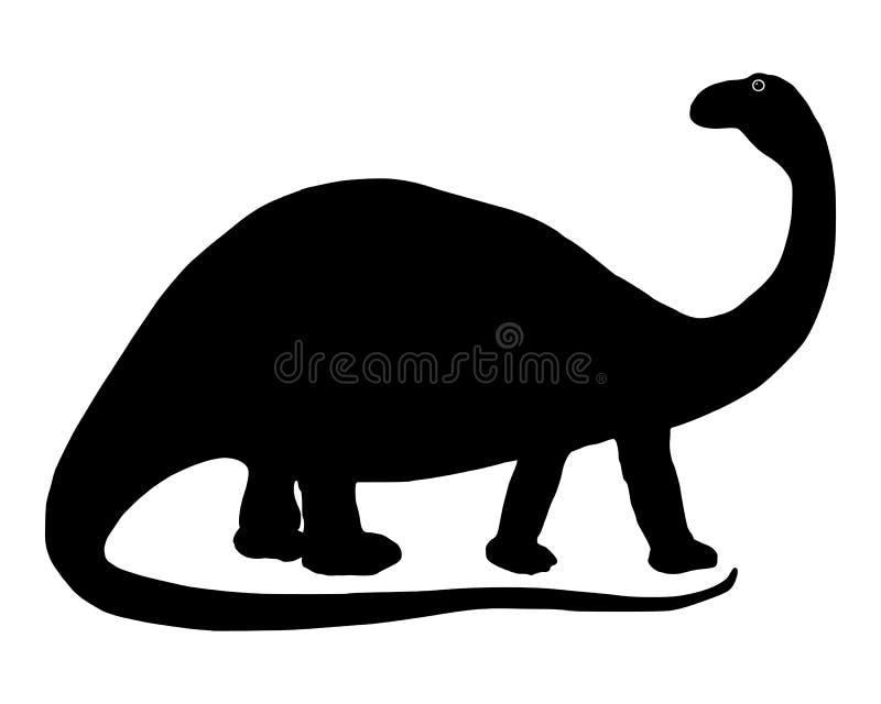 Download Brontosaurus stock vector. Image of apatosaurus, brontosaurus - 23563406