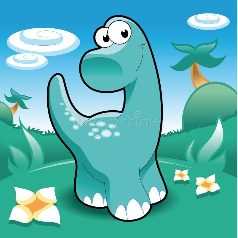 Brontosaurus libre illustration