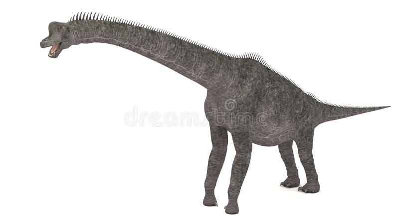 Brontotherium恐龙 皇族释放例证