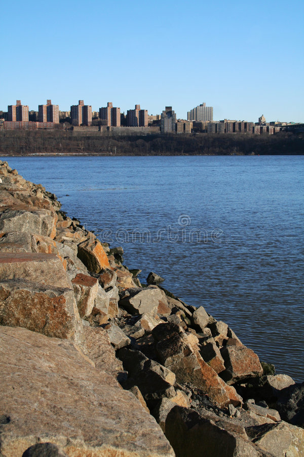 Download The Bronx stock photo. Image of hudson, rocks, coast, shore - 8195874