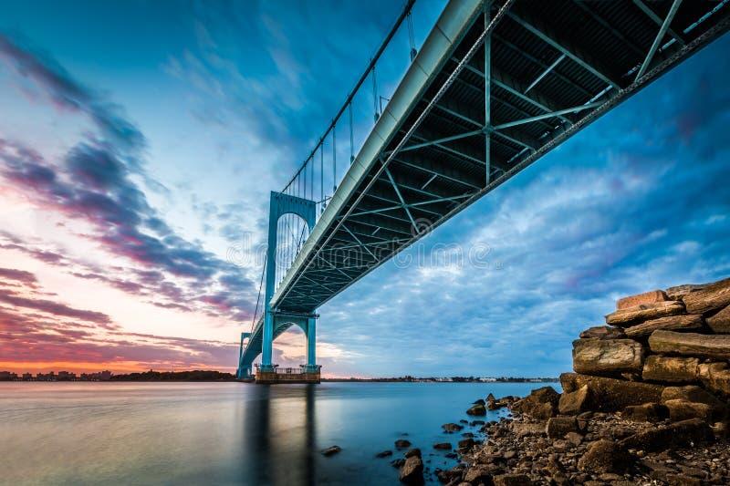 Bronx Whitestone Bridge royalty free stock photos