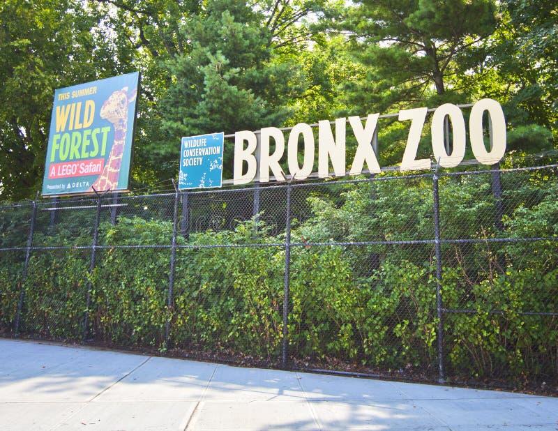 Bronx zoo arkivfoto
