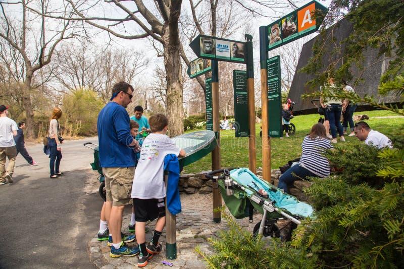 Bronx-Zoo stockbild