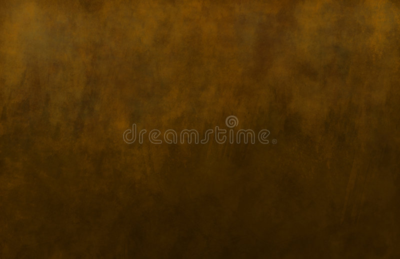 Bronze and Brown Painted Texture royalty free illustration