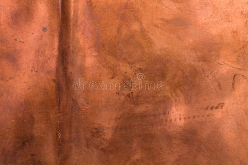 Bronze copper texture old grunge background stock images