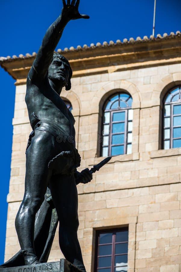 Bronze da escultura fotografia de stock royalty free
