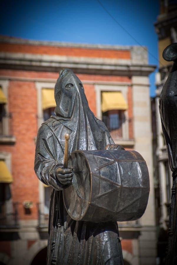 Bronze da escultura imagens de stock royalty free