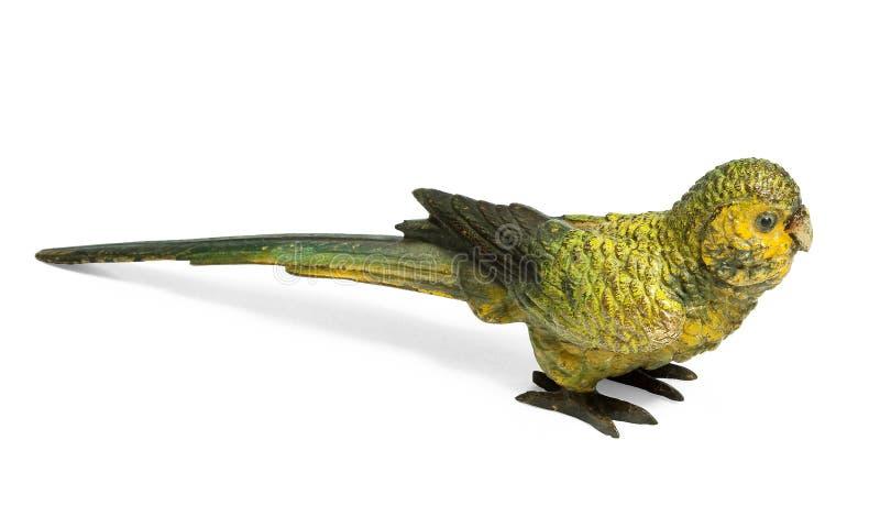 Bronze de Vienne de perruche jaune photo libre de droits