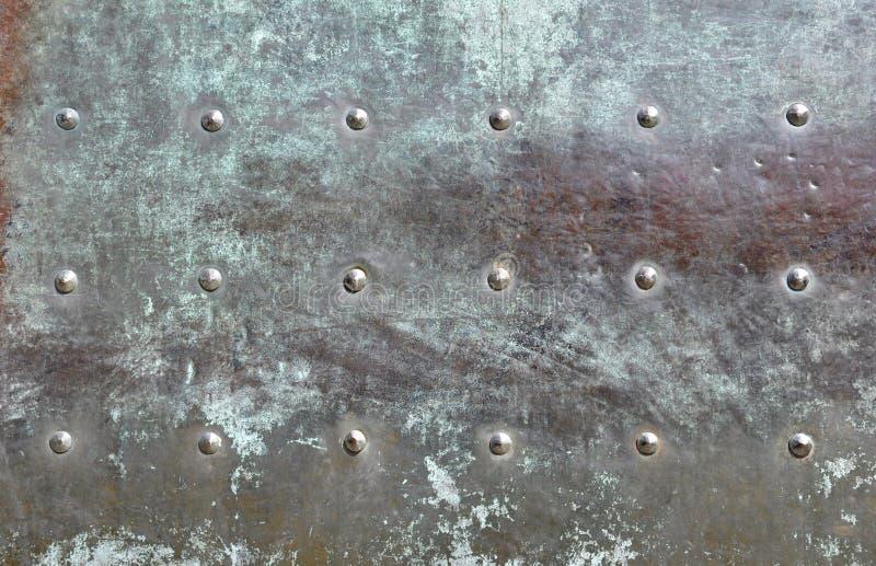 bronze detaljdörr arkivbilder