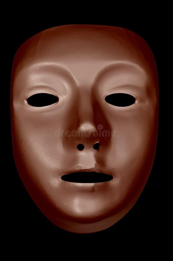 Bronze Drama Mask with Eyes
