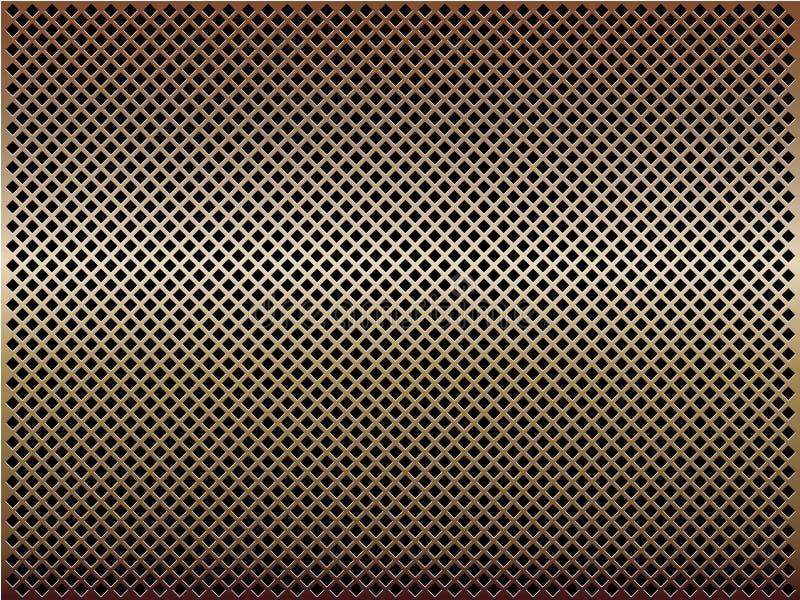bronze eps-ingrepp för bakgrund stock illustrationer