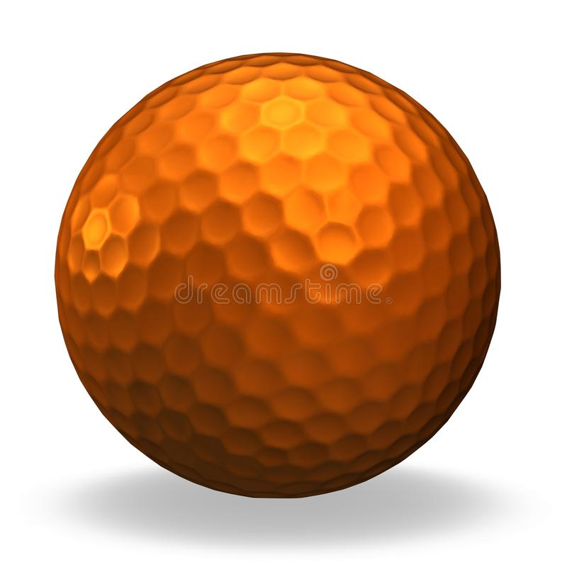 Download Bronze Golf Ball Stock Image - Image: 15270151