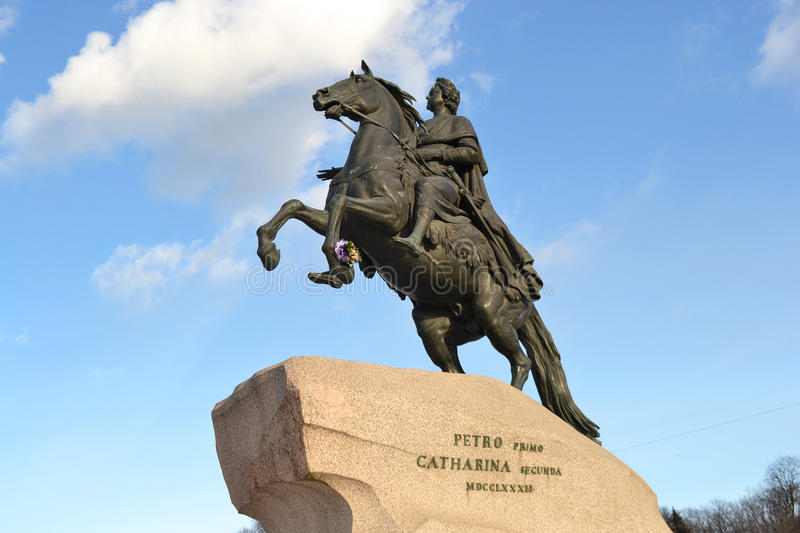 Download The Bronze Horseman stock image. Image of petersburg - 30117605