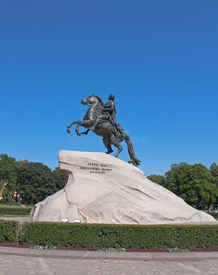 Download Bronze Horseman, Saint Petersburg Stock Image - Image: 29711121