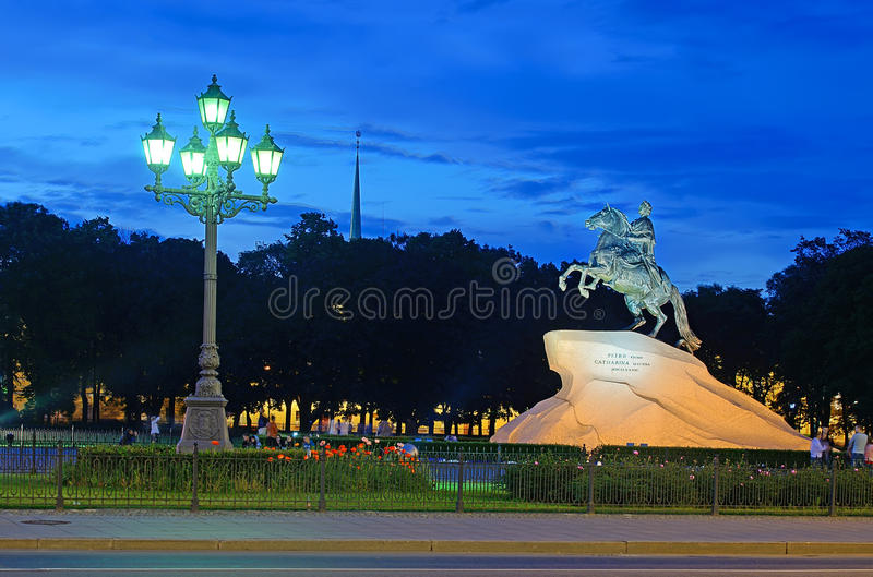 Download Bronze Horseman-monument To Peter I Editorial Stock Photo - Image: 29122763