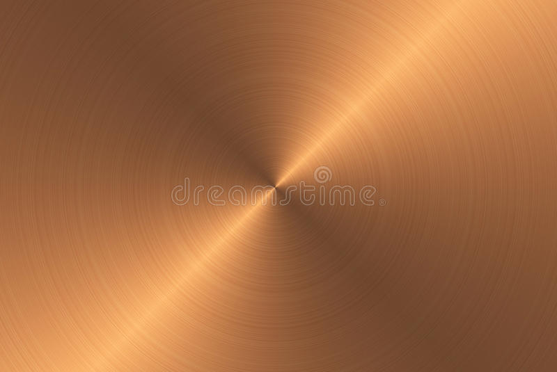 Bronze metal texture royalty free illustration