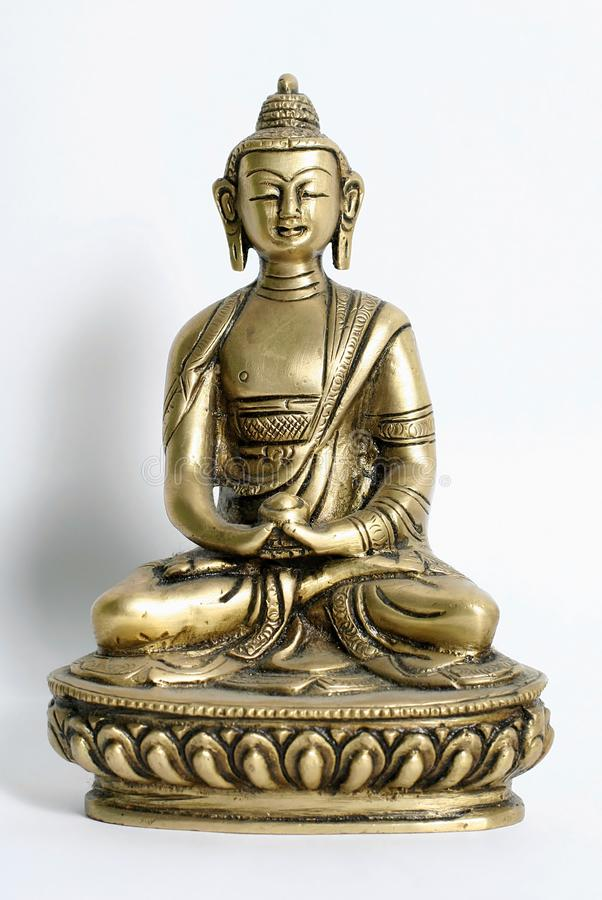 Download Bronze sculpture of buddha stock photo. Image of meditation - 4032112