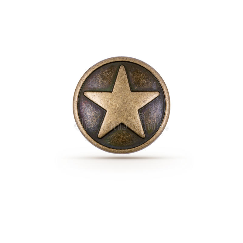 Download Bronze star symbol stock photo. Image of award, copper - 30191136