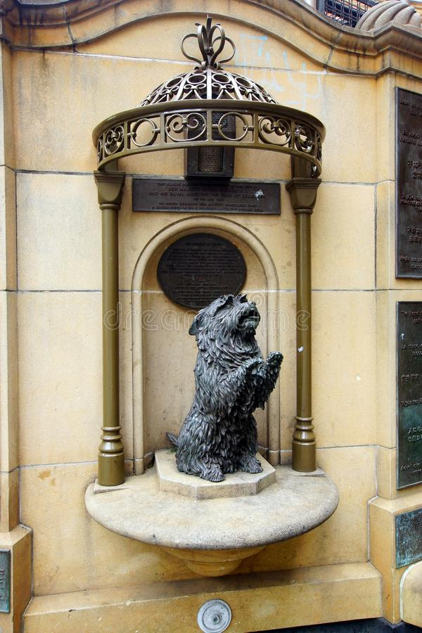 Statue of Islay, Queen Victoria`s Favourite Dog, QVB, Sydney, Australia royalty free stock photo